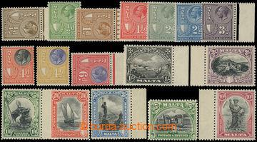 216178 - 1930 SG.193-209, Jiří V. - Motivy, ¼P - 10Sh, kompletní