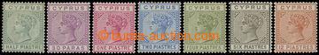 216184 - 1892-1894 SG.31-37, Viktorie ½Pi - 12Pi, kompletní řada 7