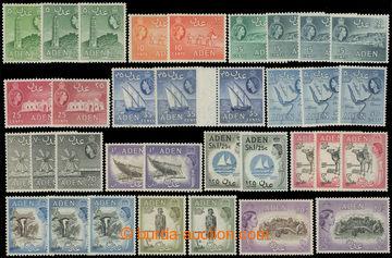 216202 - 1953-1963 SG.48-72, Alžběta II. - Motivy, 5C - 20Sh, kompl