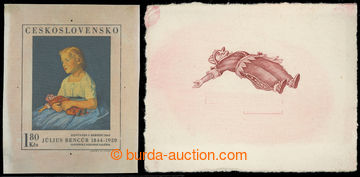 216214 - 1969 ZT  Pof.1801, Bencúr 1,80Kčs, zkusmý tisk - otisk ko