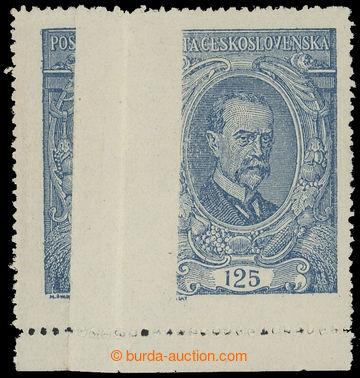 216239 -  Pof.140 VV, 125h modrá s velkou svislou složkou; svěží