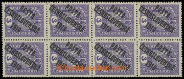 216299 -  Pof.33 ST, Koruna 3h fialová, svislý 10-blok, 2x podtyp I