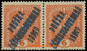 216310 -  Pof.35 Pd+ST, Koruna 6h oranžová, vodorovná 2-páska s d