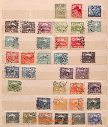 216360 - 1918-1939 [SBÍRKY]  zajímavá razítkovaná sbírka ve vě