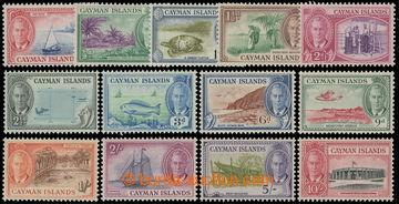 216365 - 1950 SG.135-147, Jiří VI. - Motivy ¼P - 10Sh, kompletní