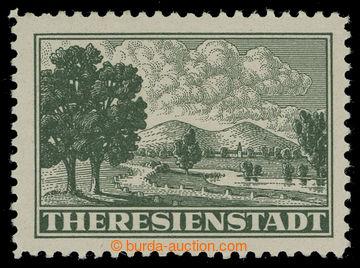 216406 - 1943 Pof.Pr1A, Připouštěcí známka s ŘZ 10½; intaktní