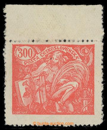 216535 -  Pof.166 VV, 300h červená, krajový kus s VV - oboustrann�