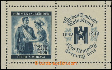 216653 - 1940 ZT  Pof.51, Červený kříž 1,20K+80h (I. vydání) v