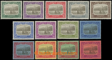 216678 - 1923 SG.48-60, Old Road Bay ½P - £1, complete set, wmk Mul
