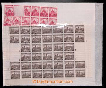 216707 - 1939-1943 [SBÍRKY]  AKUMULACE/ sestava bloků zn. emisí Kr