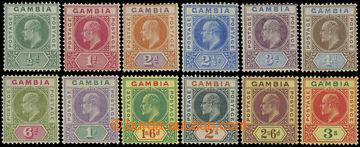 216789 - 1902-1905 SG.45-56, Edvard VII. ½P - 3Sh, kompletní řada