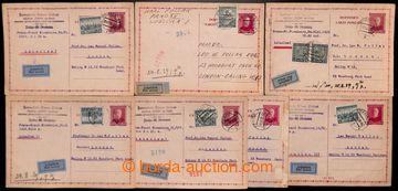 216802 - 1939 předběžná čs. dopisnice pro cizinu CDV51, TGM 1,50