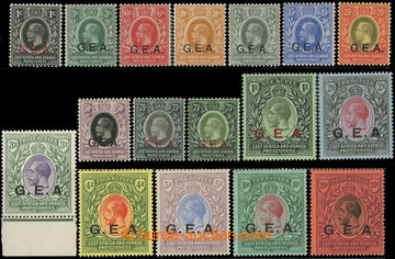 216826 - 1917-1921 SG.45-61, George V., 1C - 20R, complete set with o