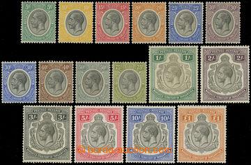 216829 - 1927-1931 BRITSKÝ MANDÁT /  SG.93-107, Jiří V., 5C - £1