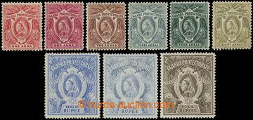 216830 - 1898-1902 SG.84-91, Viktorie 1A - 5R, kompletní řada 7 zn.