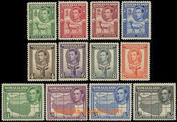216897 - 1938 SG.105-116, Jiří VI. ½A - 5R, kompletní série, pr�