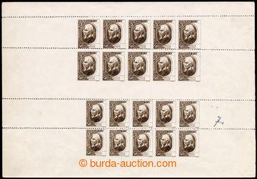 216942 - 1939 ZT  zkusmý tisk nepřijatého I. návrhu známky Hlink