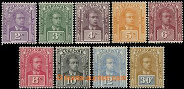217079 - 1922-1923 SG.63-71, Brooke 2C - 30C, kompletní série, bez