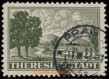 217436 - 1943 Pof.Pr1A, Připouštěcí známka s ŘZ 10½ s DR PRAG;