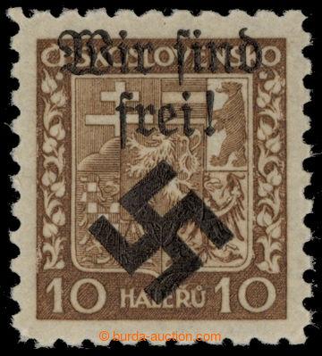 217441 - 1939 MÄHRISCH OSTRAU / Mi.2x, WIR SIND FREI na výplatní Z