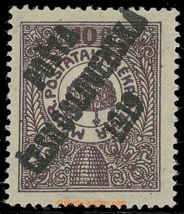 217497 -  NEVYDANÁ / Poštovní spořitelna 10f hnědofialová, II.