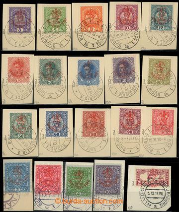 217531 - 1918 Pof.RV43-83, Hlubocké vydání (Marešův přetisk), t