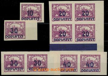 217572 - 1922 Pof.DL17 RT + DL15-18 DV, Výpotřební Hradčany, hodn