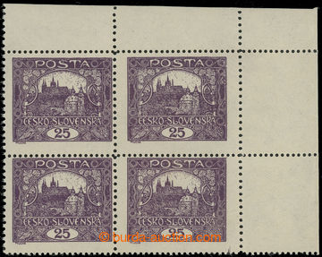 217637 -  Pof.11F STs, 25h fialová, ŘZ 13¾ : 11½, pravý horní r