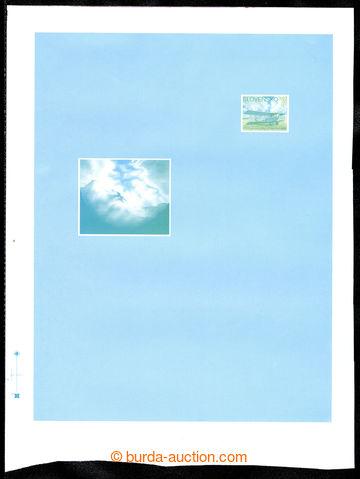 217760 - 1993 CAE1, makulaturní tisk aerogramu s okraji, tisk na ji�