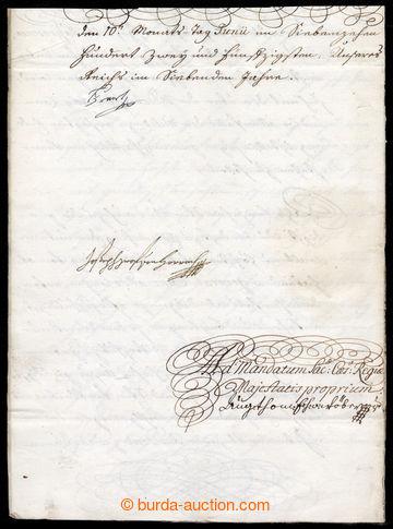 217770 - 1752 FRANTIŠEK I. ŠTĚPÁN LOTRINSKÝ (1708-1765), císař