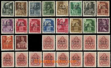 217802 - 1945 ROŽŇAVA / černý přetisk Č.S.P s dvojitou linkou n