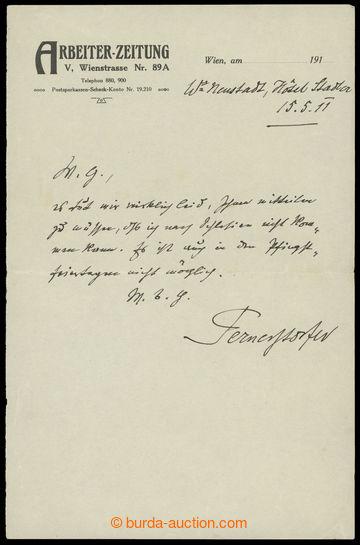 217821 - 1911 PERNERSTORFER Engelbert (1850-1918), Austro-Hungarian (