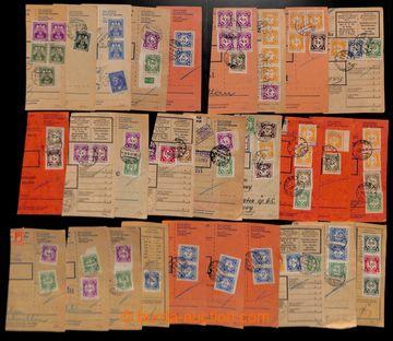 218049 - 1942-1944 [SBÍRKY]  ÚSTŘIŽKY /  sestava 46ks ústřižk�