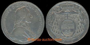 218077 - 1778 HIERONYMUS COLLOREDO, 1 tolar 1778; Ag, hrany