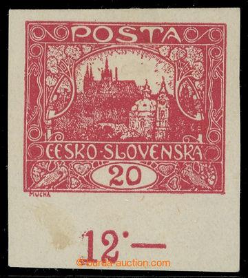 218194 -  Pof.9N, 20h karmínová s dolním okrajem s počítadlem; p