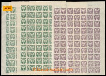 218246 - 1918 ARCHOVINA/ Pof.NV1, NV4, Sokol v letu 2h, sestava dvou