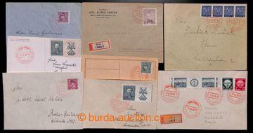 218293 - 1939 PR2, Návštěva vůdce vBrně, sestava 8ks celistvos