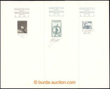 218338 - 2001 PT29b, 30b, 31b, Slovenská filharmonie, Bardějov a K�