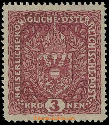 218339 - 1916 VÝPLATNÍ / VELKÝ FORMÁT / ANK.201 II, Znak 3K tmav�