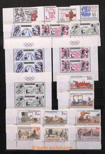 218356 - 1988-1990 [SBÍRKY]  3 kompletní ročníky včetně všech
