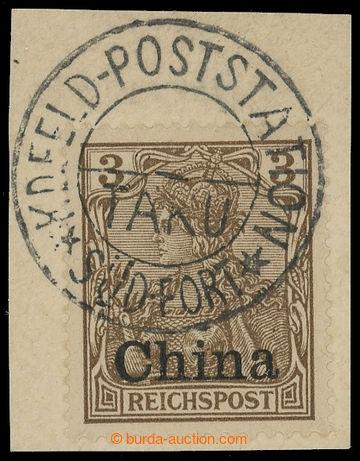 218500 - 1900 BOXERSKÉ POVSTÁNÍ - Mi.15, 3Pfg Germania - Reichspos