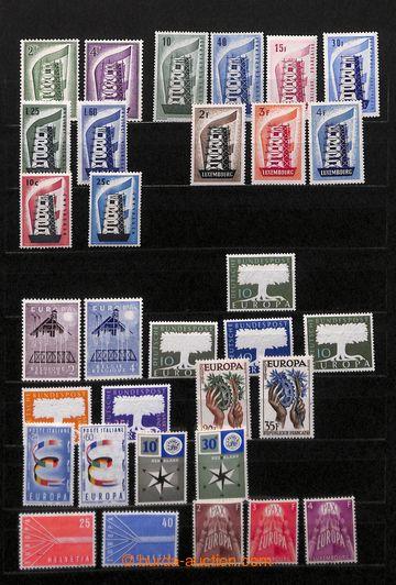 218535 - 1956-1980 [SBÍRKY]  EUROPA CEPT ve 2 zásobnících A4, té