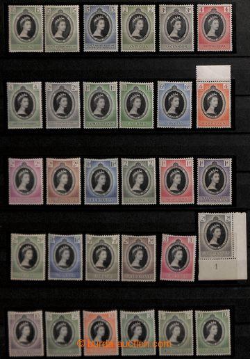 218618 - 1953 [SBÍRKY]  OMNIBUS / Alžběta II. / Korunovace 1953 /