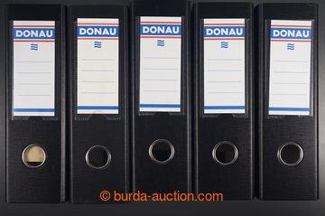 218660 -  Pořadač pákový DONAU, A5, černý, sestava 84ks, jako n