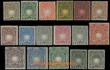 218675 - 1890-1895 SG.4-19, Light and Liberty ½A - 5R + dodatkové 5