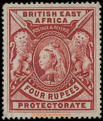 218680 - 1897-1903 SG.95, Viktorie 4R karmínová; dv, kat. £500