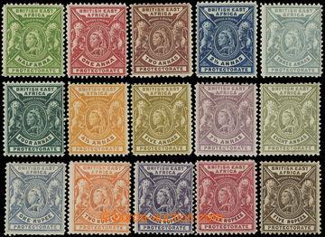 218682 - 1896-1901 SG.65-79, Viktorie ½A - 5R; kompletní série, ho