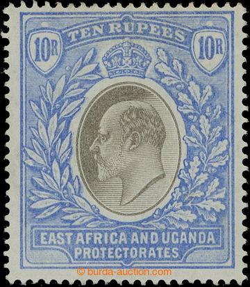 218688 - 1903-1904 SG.14, Edvard VII. 10R šedá a ultramarínová, p