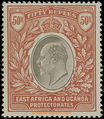 218691 - 1903-1904 SG.16, Edvard VII. 50R šedá / oranžově hnědá