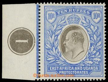 218694 - 1907 SG.31, Edvard VII. 10R šedá a ultramarínová, krajov